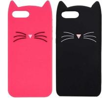 """Силиконовая накладка 3D Cat для Apple iPhone 7 plus / 8 plus (5.5"""")"""