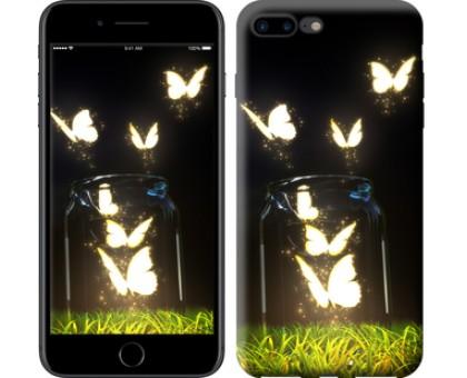 Чехол Бабочки для iPhone 8 Plus