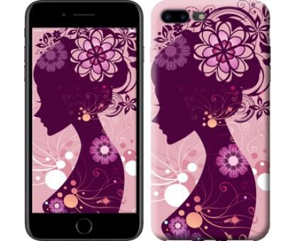 Чехол Силуэт девушки для iPhone 8 Plus
