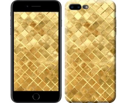 Чехол Текстура цвета золото для iPhone 8 Plus