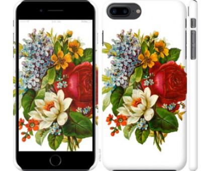 Чехол Цветы 2 для iPhone 8 Plus