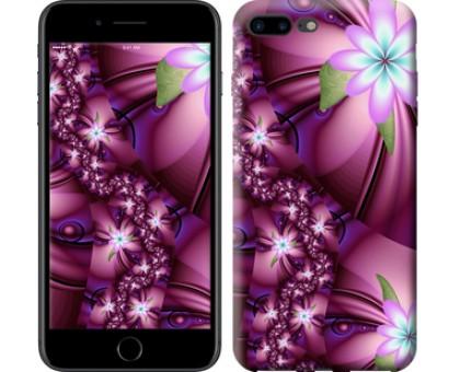 Чехол Цветочная мозаика для iPhone 8 Plus