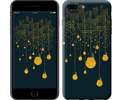 Чехол Иллюстрация ночного города для iPhone 8 Plus