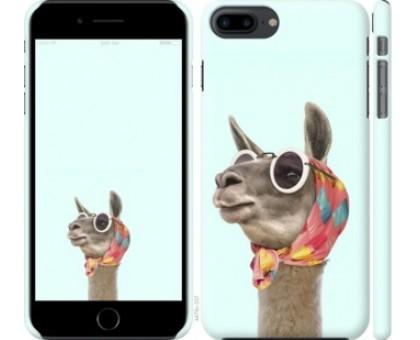 Чехол Модная лама для iPhone 8 Plus