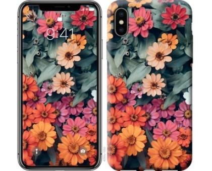 Чехол Beauty flowers для iPhone X (5.8)