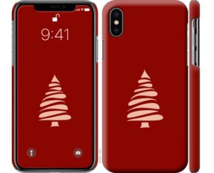 Чехол Новогодний 15 для iPhone X (5.8)