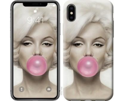 Чехол Мэрлин Монро для iPhone X (5.8)