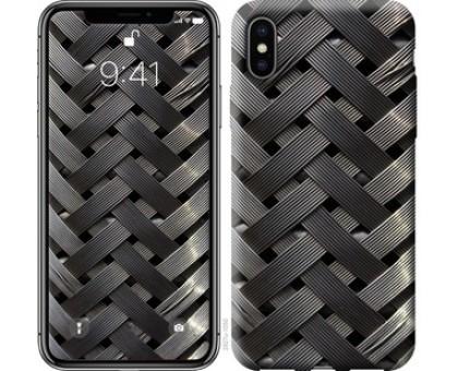 Чехол Металлические фоны для iPhone X (5.8)