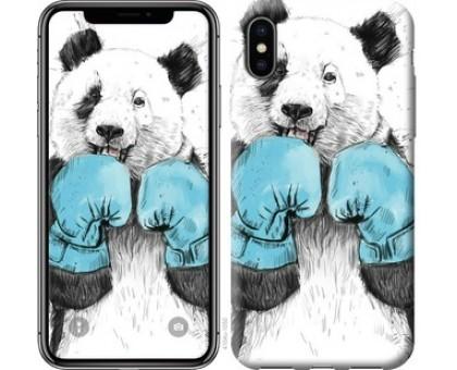 Чехол Панда-боксер для iPhone X (5.8)
