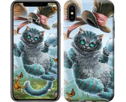 Чехол Чеширский кот 2 для iPhone X (5.8)