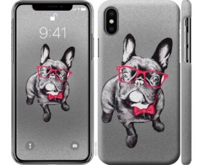 Чехол Умный бульдог для iPhone X (5.8)