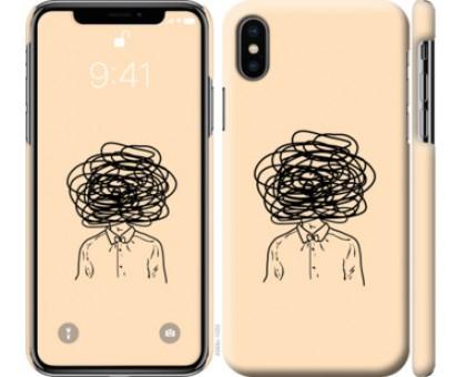 Чехол Мысли для iPhone X (5.8)
