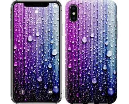 Чехол Капли воды для iPhone X (5.8)
