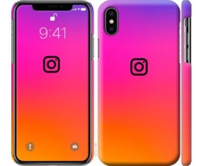 Чехол Instagram для iPhone X (5.8)