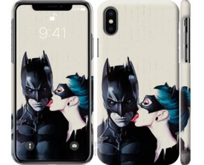 Чехол Бэтмен для iPhone X (5.8)