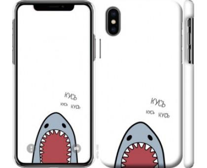 Чехол Акула для iPhone X (5.8)