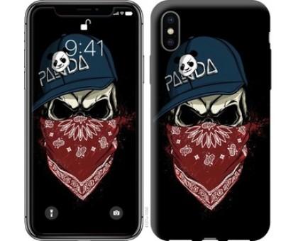 Чехол Череп в кепке для iPhone X (5.8)