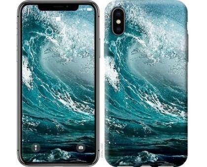 Чехол Морская волна для iPhone X (5.8)