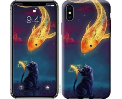 Чехол Кошкин сон для iPhone X (5.8)