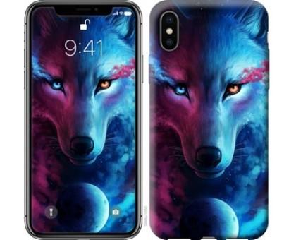 Чехол Арт-волк для iPhone X (5.8)