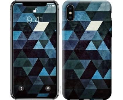Чехол Треугольники для iPhone X (5.8)