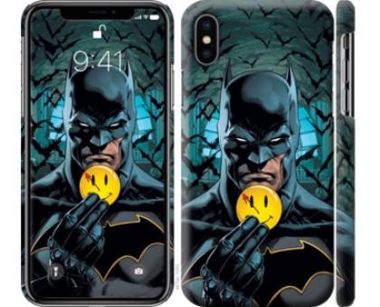 Чехол Бэтмен 2 для iPhone X (5.8)