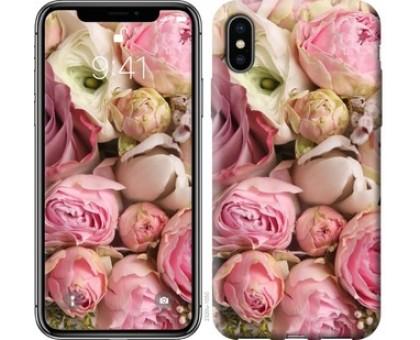 Чехол Розы v2 для iPhone X (5.8)