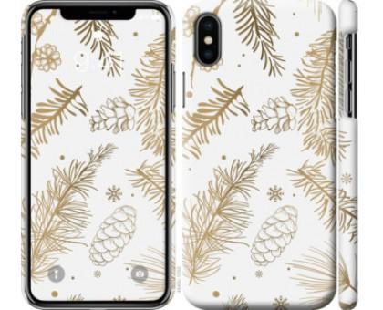 Чехол Зимний для iPhone X (5.8)