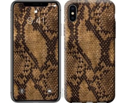 Чехол Змеиная кожа для iPhone X (5.8)