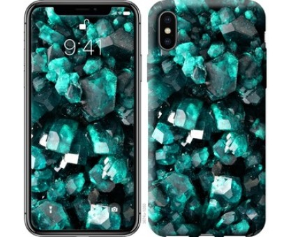Чехол Кристаллы 2 для iPhone X (5.8)