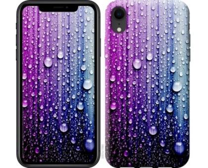 Чехол Капли воды для iPhone XR
