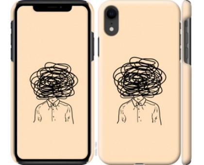 Чехол Мысли для iPhone XR
