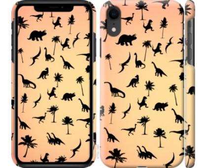 Чехол Динозаврики 1 для iPhone XR
