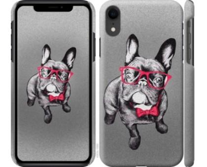 Чехол Умный бульдог для iPhone XR