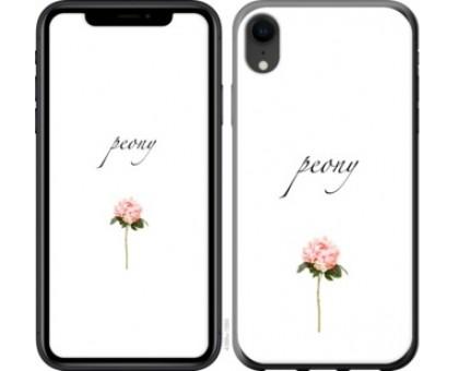 Чехол Пион для iPhone XR