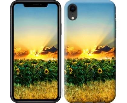 Чехол Украина для iPhone XR