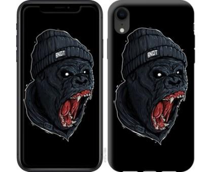 Чехол Обезьяна в ярости для iPhone XR