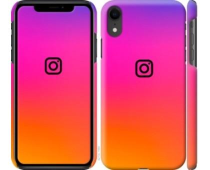 Чехол Instagram для iPhone XR