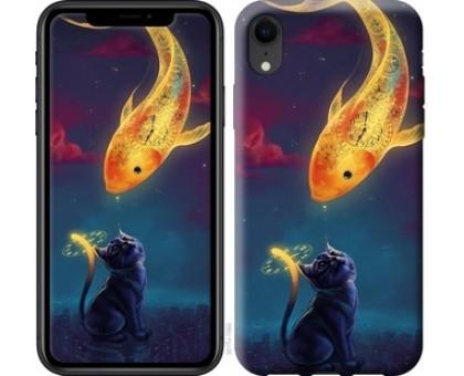 Чехол Кошкин сон для iPhone XR