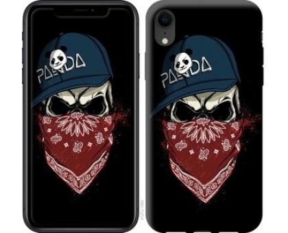 Чехол Череп в кепке для iPhone XR