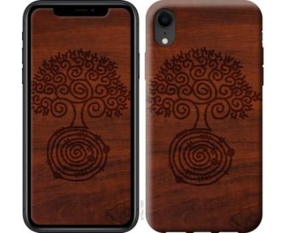 Чехол Узор дерева для iPhone XR