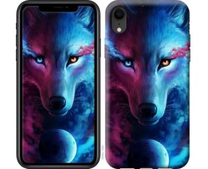 Чехол Арт-волк для iPhone XR