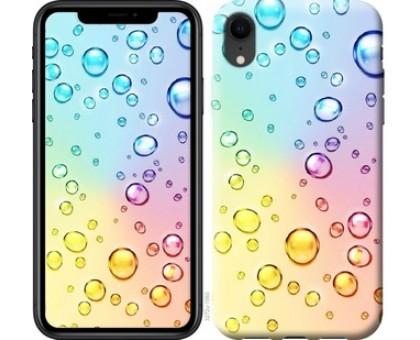 Чехол Пузырьки для iPhone XR