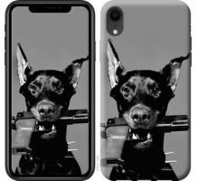 Чехол Доберман для iPhone XR
