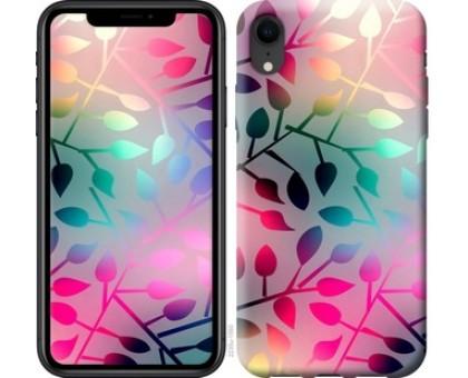 Чехол Листья для iPhone XR