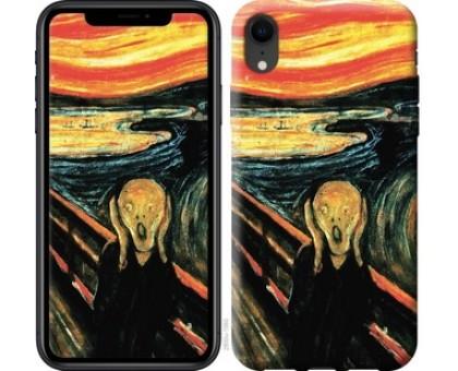 Чехол Крик Мунка для iPhone XR