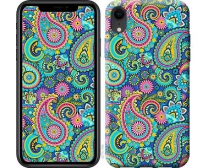 Чехол индийский огурец для iPhone XR