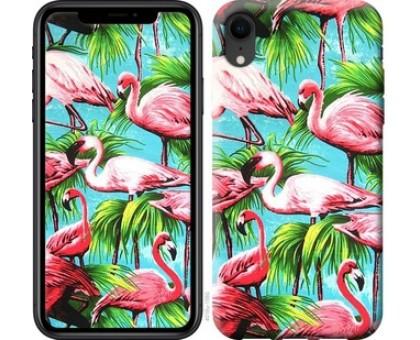 Чехол Tropical background для iPhone XR
