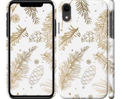 Чехол Зимний для iPhone XR