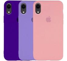 "Чехол Silicone Case Slim Full Protective для Apple iPhone XR (6.1"")"